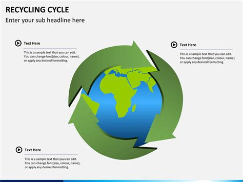 recycling powerpoint recycling cycle powerpoint sketchbubble