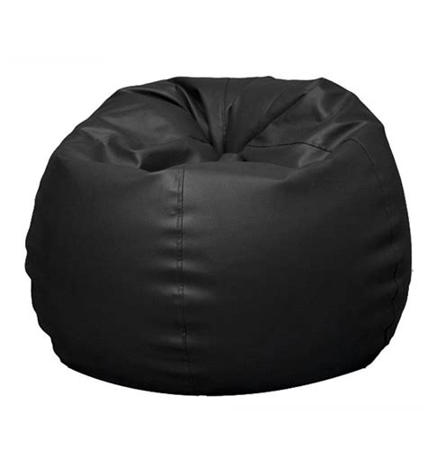 Black Bean Bag Chairs by Pebbleyard Classic Black Bean Bag With Beans By