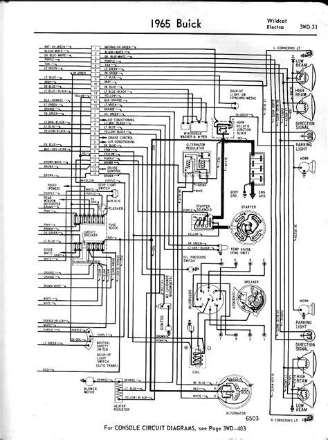 buick wiring diagrams 1957 1965
