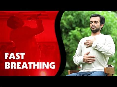 why is my breathing fast fast breathing exercise dynamic breathing by sneh desai