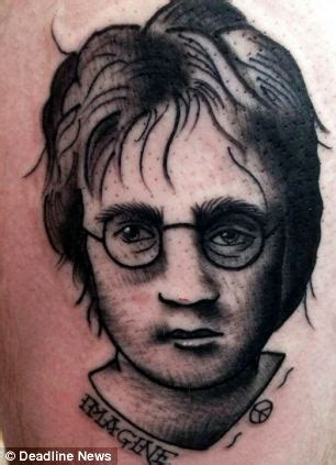 twitter lampoons man whose john lennon tattoo looks more