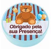 Latinha Pl&225stica 5x1 Lembrancinha Ursinho Azul E Marrom NEW
