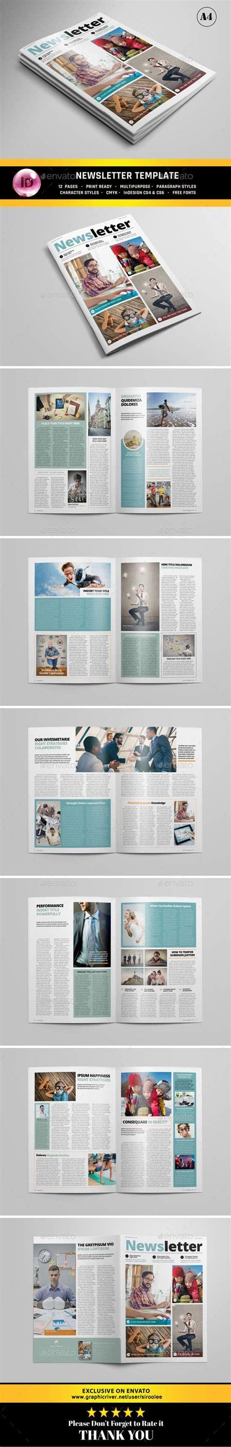 indesign layout vorlagen zeitschrift die besten 25 newsletter design ideen auf pinterest
