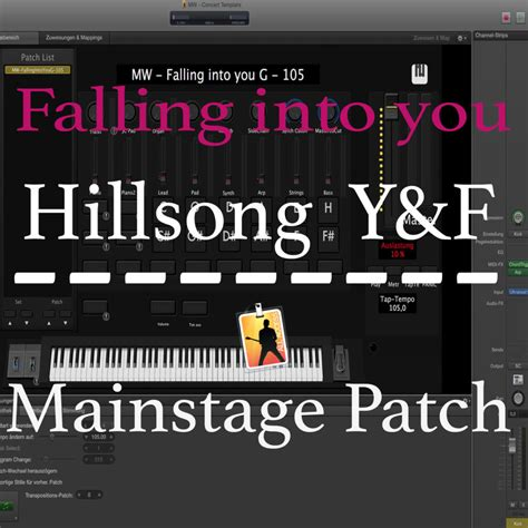 mainstage concert templates falling into you y f mainstage patch martin wiegel