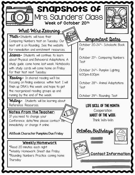 Parent Letter Classroom Management Plan The Teaching Oasis Parent Communication