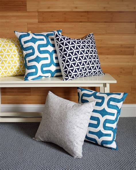Pillow Upholstery by Hooray For Pillows