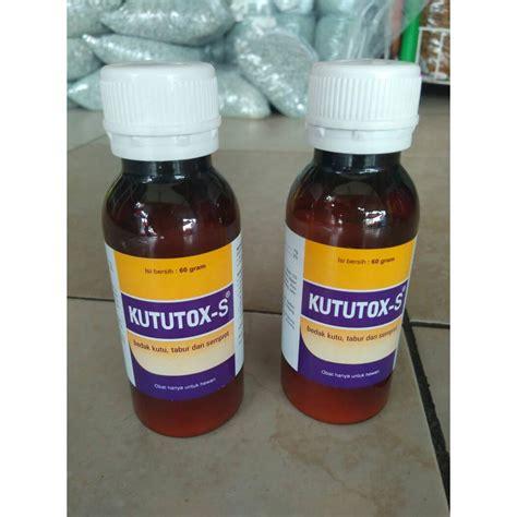 Obat Pembasmi Jamur Kulit medion obat kutu gurem hewan kututox serbuk 60 gram