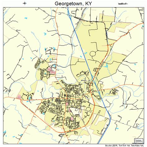 ky map downtown georgetown ky pictures posters news and on your