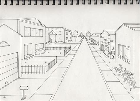 1 point perspective art with miss griffin
