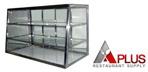 carib display co glass bakery countertop display
