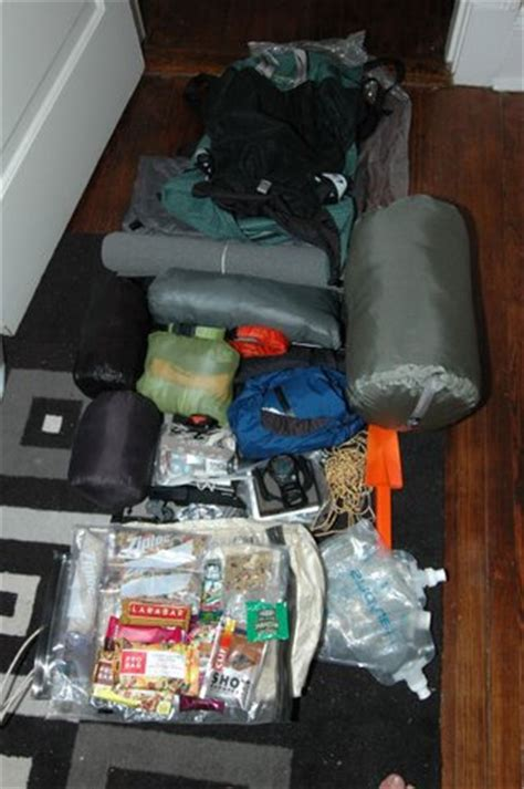 section hiker gear list how to eliminate spare clothing from your gear list