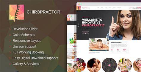 chiropractor v1 0 12 therapy and rehabilitation wordpess theme unlockpress