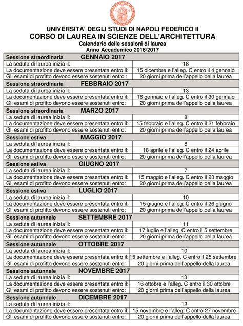 calendario sedute di laurea laurea