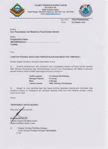 contoh surat rasmi lawatan penanda aras gontoh