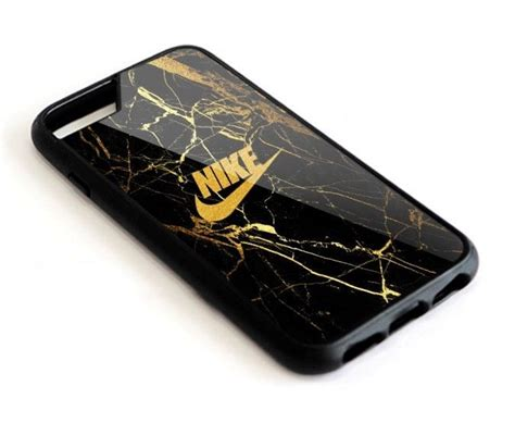 new nike marble gold black for iphone 8 plus plastic cover nike phone cases and phone