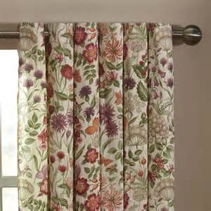 Curtains With Flowers Iliv Moorland Field Flowers Lined Eyelet Curtains Autumn