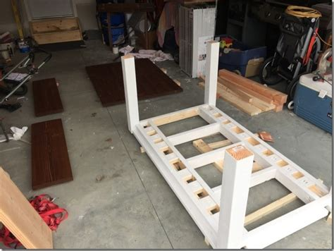 diy farmhouse table  extension leaves  plans sweet tooth sweet life