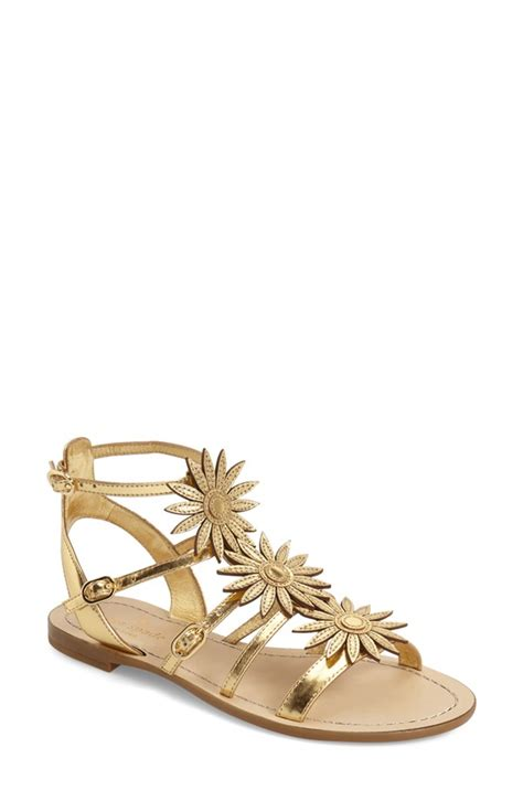 golden flat shoes gold flat sandals shop