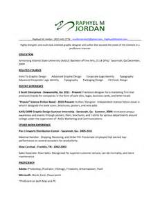 resume for graphic designer sales designer
