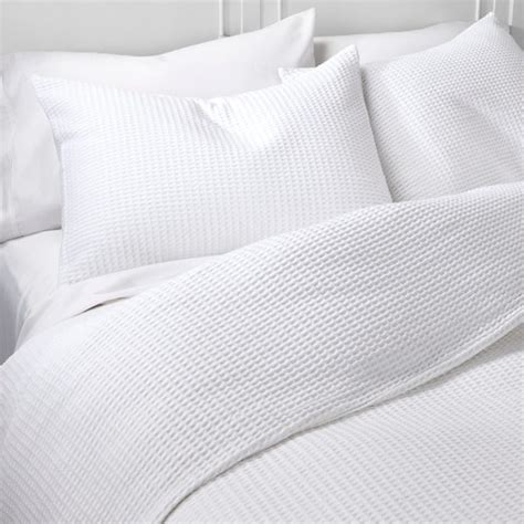 waffle weave duvet cover set the industrial shop target