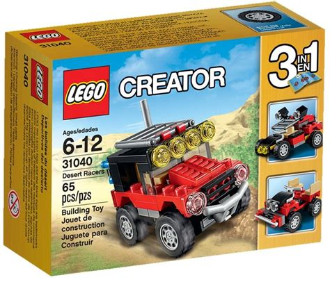 Set Fash 3in1 1 lego creator 31040 pas cher les bolides du d 233 sert