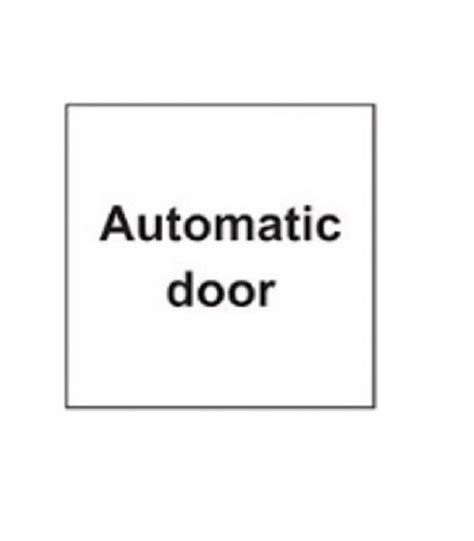 Adhesive Signs For Doors - buy sdi002 adhesive sign keep clear valley