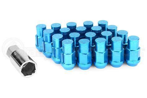 Headcap For Rays Racing Nut volk racing rays 42mm 12x1 25 lug nuts blue vol w4212125u lug nuts