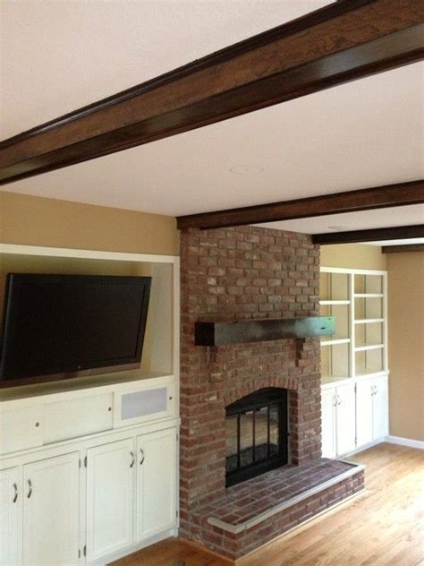 fireplace living room with conventional fireplace facelift with bricks fireplace also