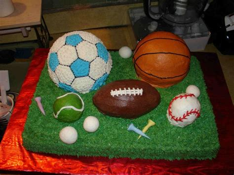 sports themed cake decorations boys sports birthday cake ideas wallpaper