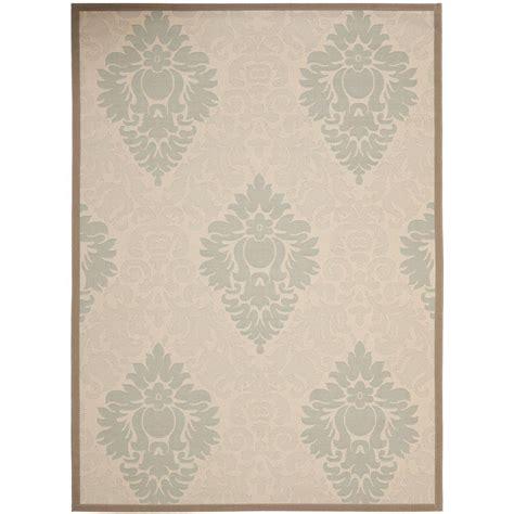 safavieh courtyard beige beige 8 ft x 11 ft indoor outdoor area rug cy7133 79a18 8 the