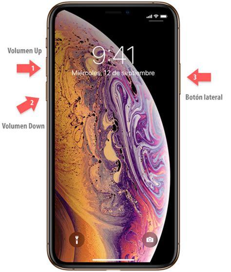 c 243 mo apagar o reiniciar iphone xs o iphone xs max solvetic