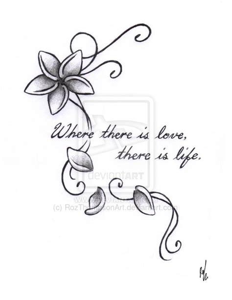 frangipani tattoos designs frangipani flower design by rozthompsonart on