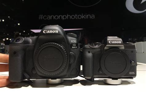 Canon Eos M5 Only Canon M5 Eos M5 photokina 2016 canon s eos m5 introduces a better way to autofocus for handheld