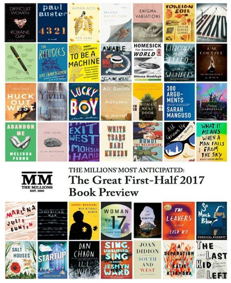 most anticipated the great 2017 book preview the millions