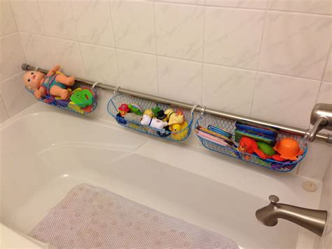 Use extra shower curtain rods to increase bathroom storage amp more 171 macgyverisms wonderhowto