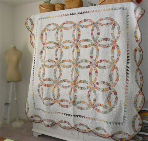 wedding ring quilt sewluxesew