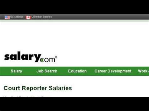 Average Salary For Court Reporter by The Average Salary Of A Court Reporter In