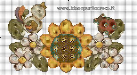 fiori thun thun schemi punto croce fiori e bordure thun schemi punto