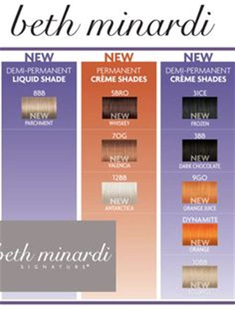beth minardi color 1000 images about hair color on revolutions