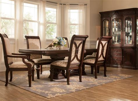 incredible cherry dining room sets including gorgeous set 17 best images about dining room living room and others