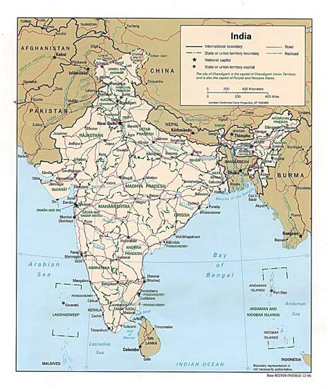 road map india to usa detailed road and administrative map of india india