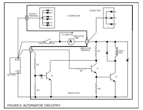 how does a diode trio work alternator overview triumph club vintage triumph register