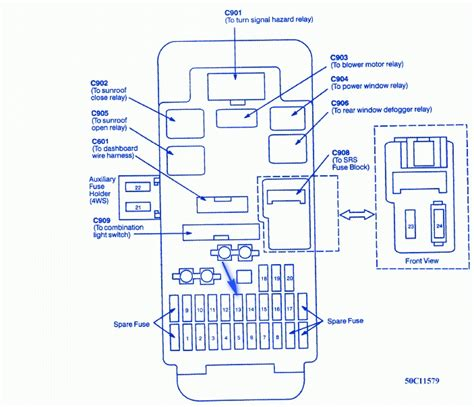 1999 honda accord fuse box diagram 2000 honda accord radio
