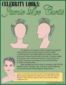 curtis hairstyle front and back view jamie lee curtis haircut directions short hairstyle 2013
