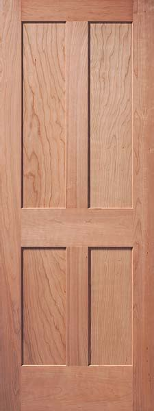4 Panel Interior Wood Door Interior Flat Panel Doors Mission Style Doors Interior Wood Doors