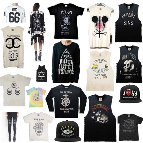 Rate Symboldenim Shirt the widespread use of inverted esoteric symbols in fashion world tv