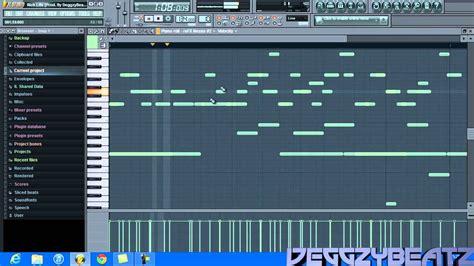 tutorial fl studio beat trap hot fl studio 10 tutorial making a young chop chief