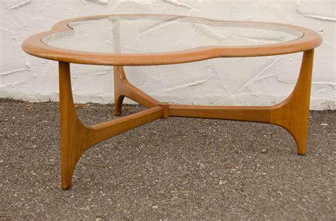 g plan cloverleaf glass top coffee table at 1stdibs