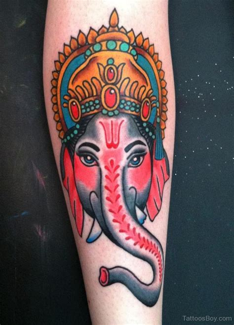 ganesh tattoo traditional hinduism tattoos tattoo designs tattoo pictures page 13