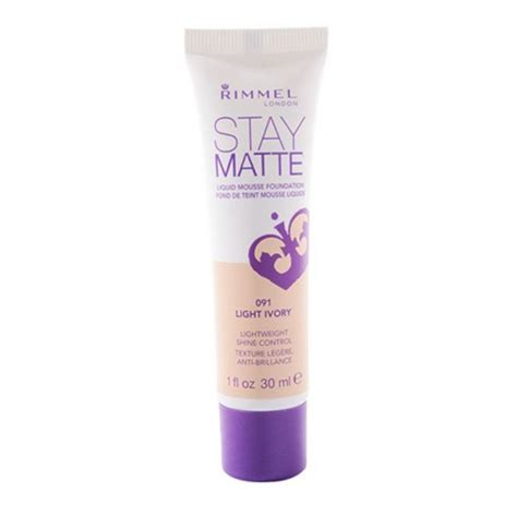 Rimmel Stay Matte Foundation buy rimmel stay matte liquid mousse foundation